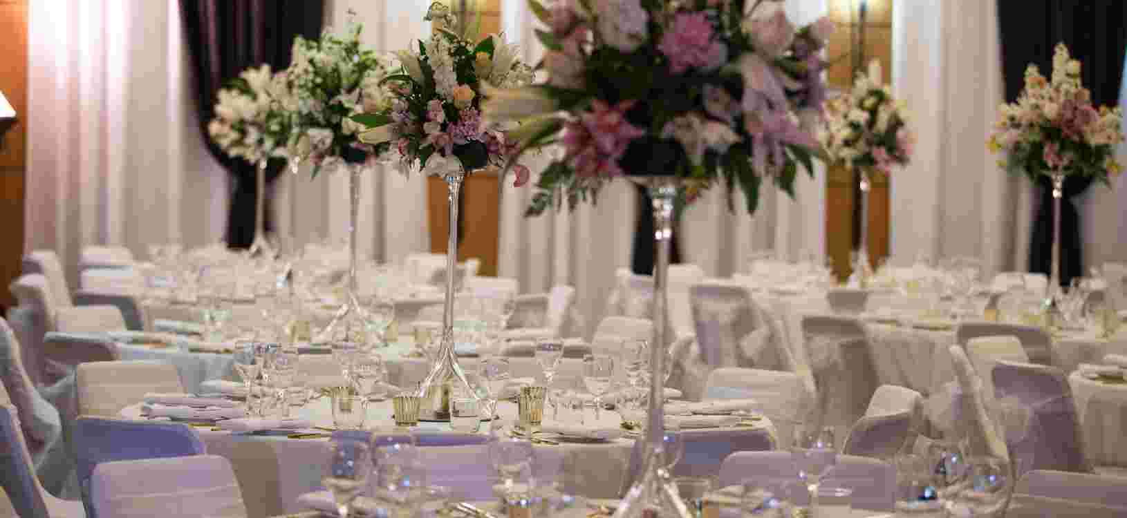 Wedding Grand Ballroom Flowers